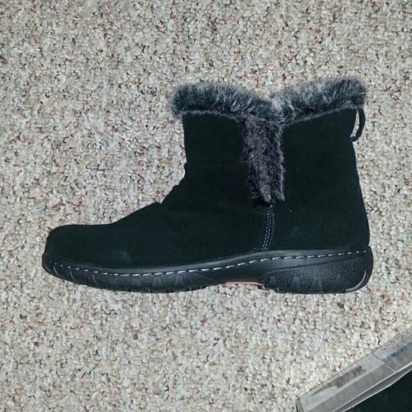 Black NEW Khombu Women/'s Lisa All Weather Boots Sz 7